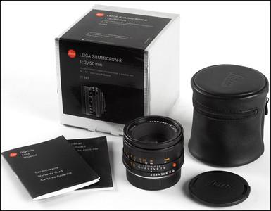 徕卡 Leica R 50/2 SUMMICRON-R ROM 最后期39号段 带银盒包装