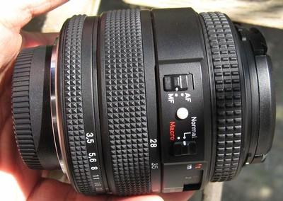 尼康口康泰时蔡司Contax zeiss VS N 28-80 F3.5-5.6手动镜头