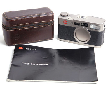 顶级小旁轴 徕卡 CM 带summarit 40/2.4 带皮套#jp18745