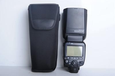 97新二手Canon佳能 600EX-RT 一代机顶闪光灯(B0038)【京】