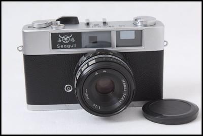 国货精品,海鸥205旁轴胶卷相机