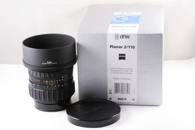 97蔡司Planar 110/2 HFT PQ,禄来 仙娜HY6专用镜头,施耐德 带包装