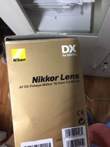求一个尼康10.5mm镜头无论成色 无论损坏 报废的最好