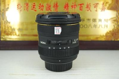 尼康口 适马 10-20 F4-5.6 超广角 单反镜头 非全画幅 可置换