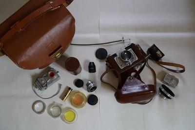德国Futura-S相机带 Futura Frilon 50 1.5 和 35 4.5 镜头
