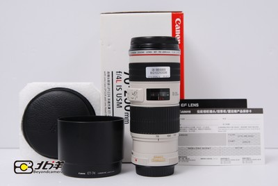 99新 佳能 EF 70-200/4L IS USM 行货带包装(BG10250006)