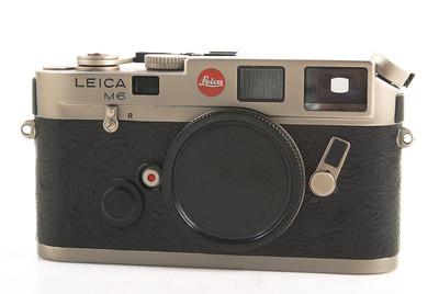 徕卡 M6 Titanium version 钛版相机机身 #HK7395
