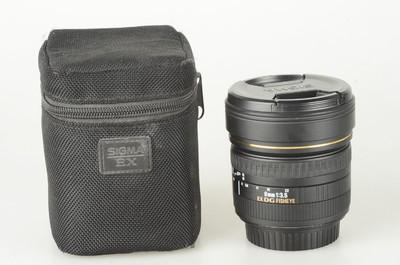 98新 适马 8mm f/3.5 EX DG Circular Fisheye(佳能卡口)