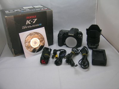 出售 95新 宾得 K7带18-55 包装齐全 请看图片