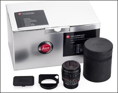 徕卡 Leica M 24/1.4 SUMMILUX-M ASPH 6-BIT 带包装