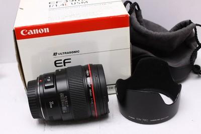 佳能 EF 35 MM F1.4 35/1.4 L 佳能35/1.4 佳能 35/1.4 带包装