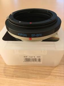 KIPON 佳能 EF镜头转富士 GFX 50s中画幅 转接环 ,EF-GFX
