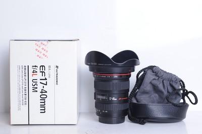 96新二手 Canon佳能 17-40/4 L USM 广角镜头(B8134)【京】