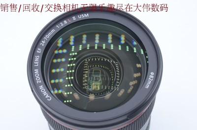 新到98新 佳能24-70 2.8 II 二代镜头 可交换器材 编号7970
