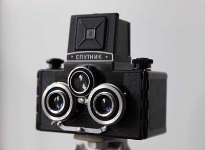 苏联三眼相机