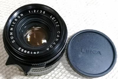 Leica/徕卡 SUMMICRON-M 35/2 六枚玉 (26编号)