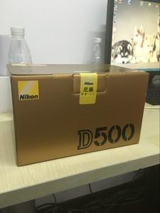 尼康 D500 单机 尼康D500 套机 单反数码相机