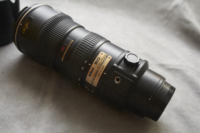【出售】自用成色新,尼康 70-200mm f/2.8G VR(小竹炮)