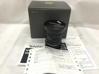 福伦达 NOKTON 50mm f/1.5 ASPH VM黑色原配包装