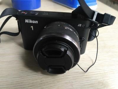 尼康J2微单相机 微单烦 带镜头 内存卡 包 充电器 支持1080P