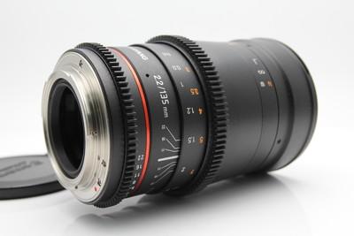 SAMYANG/三阳135mm T2.2 电影镜头 全画幅佳能口135 2.2无极光圈