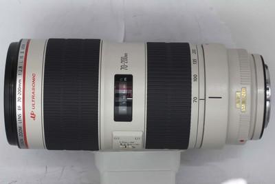 【全画幅中长焦镜头】佳能EF 70-200/2.8L IS II USM(NO:6588)