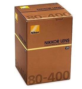 约99.9新 尼康 AF VR80-400mm f/4.5-5.6D ED镜头