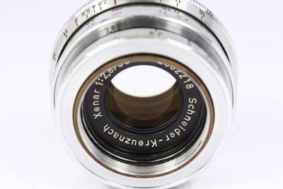 EXA口 施耐德 Xenar 50/2.8 镜头 Schneider 德产手动镜头 银头