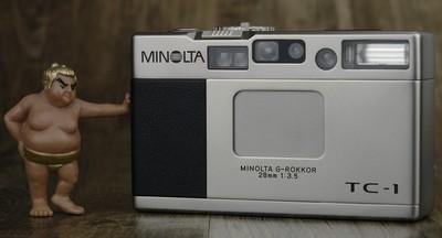 美能达 Minolta TC-1 TC1 美品 后期编号
