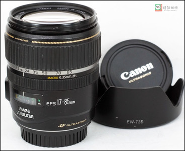 佳能 EF-S 17-85mm f/4-5.6 IS USM 变焦防抖镜头