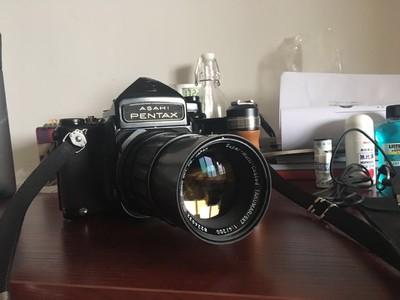 Pentax 6x7+200mm