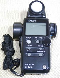 世光 L-558测光表