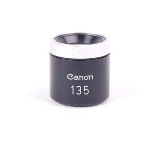 【美品】canon/佳能 135mm 黑色 取景器 #jp18981