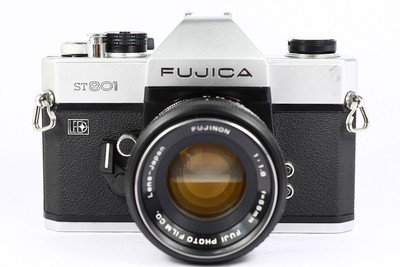 FUJICA ST801 富士 日产135胶片单反相机 M42口 55/1.8