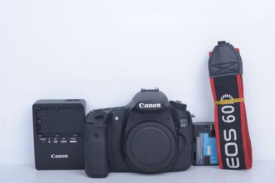98新二手Canon佳能 60D 单机 中端单反相机(B3705)【京】