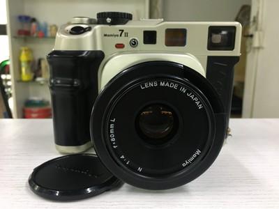 Mamiya玛米亚 7II+80/4L 标准定焦套机 中画幅专业胶片 旁轴相机