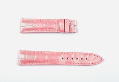 【全新】法兰克穆勒原厂5850系列适用粉色鳄鱼皮表带#601547