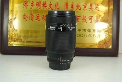 尼康 70-210 F4-5.6 单反镜头 远摄变焦 平民中长焦 可置换