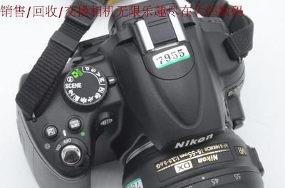 新到95新 尼康D5000 入门首选 便宜出售 单机1000 编号7955 7956