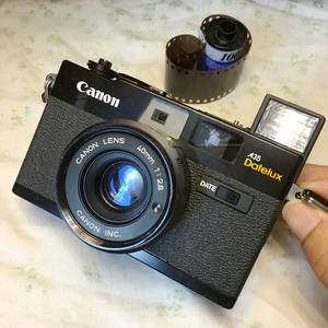 Canon/佳能 A35 Datelux 135胶片机金属机械胶卷旁轴相机手动