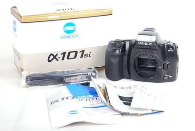 库存品 美能达 α-101si panorama 黑色胶片机 #jp17657