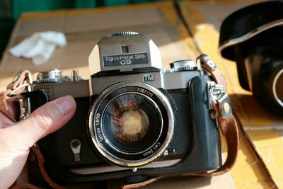 德国蔡司胶片机胶卷机icarex35cs  蔡福ultron 50 1.8M42通用卡口