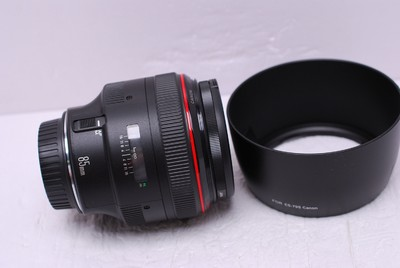 佳能 EF 85/1.2 L 85 mm f1.2 佳能85/1.2 佳能85/1.2 99新