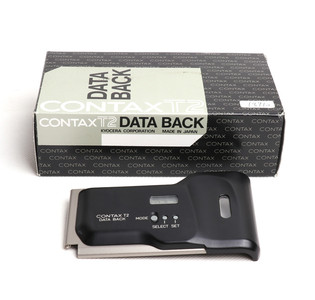 CONTAX/康泰时 T2用 数据后背 Data Back 全新带包装#jp18710