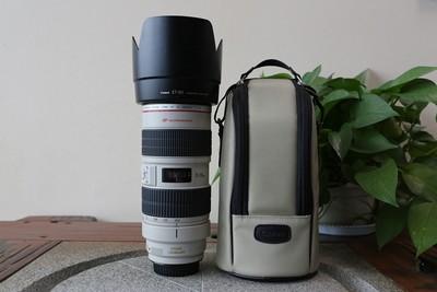 96新二手Canon千亿国际娱乐官网首页 70-200/2.8 L IS USM小白IS(W11023)【武】