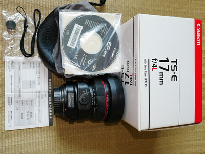 佳能 Canon TS-E 17mm f/4L 移轴镜头