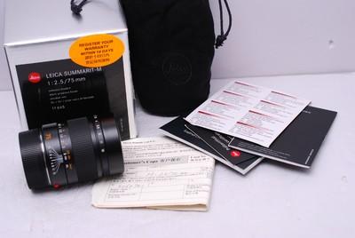 徕卡 M 75/2.5 75mm f2.5 leica 徕卡75/2.5 带包装 99新