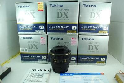 全新 图丽 35mm F2.8 MACRO 单反镜头 广角微距定焦 可置换