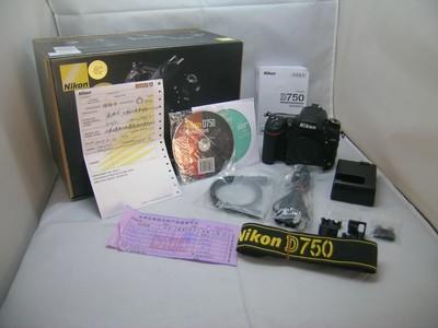 出售 97新 尼康 D750 机身 包装齐全 请看图片