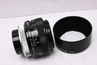 佳能 FD 55/1.2 55mmF1.2 SSC 佳能FD55/1.2 佳能55/1.2 带光罩